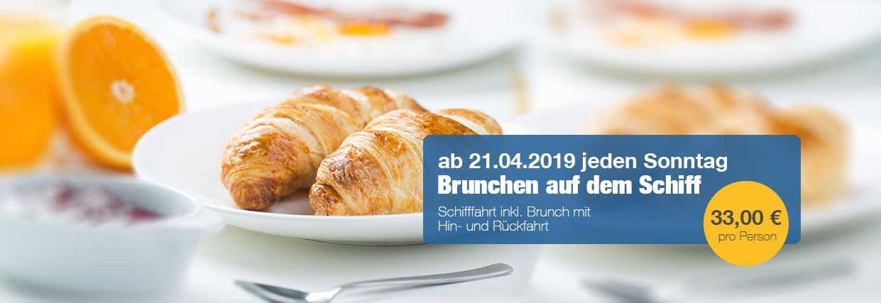 Brunch Schiff Sonntag Bonn