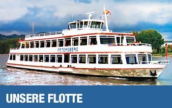 Unsere Flotte auf dem Rhein